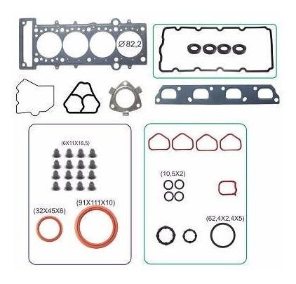 kit retifica motor aço c/ ret fiat doblo punto 1.8 16v etorq