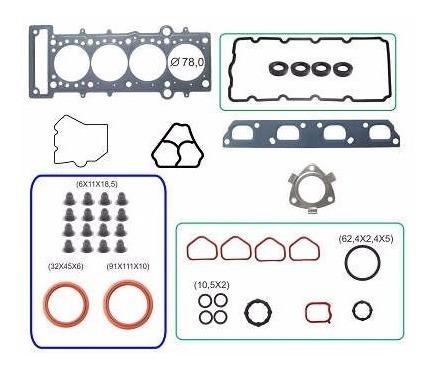 kit retifica motor aço c/ ret mini cooper s 1.6 16v e-torq