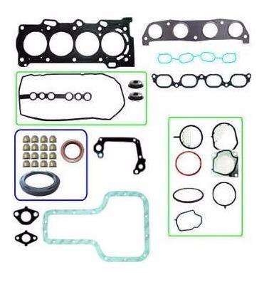 kit retifica motor aço c/ ret toyota filder 1.4 1.6 1.8 16v