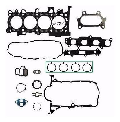 kit retifica motor aço honda fit 1.4 1.5 16v l15a7 2009/