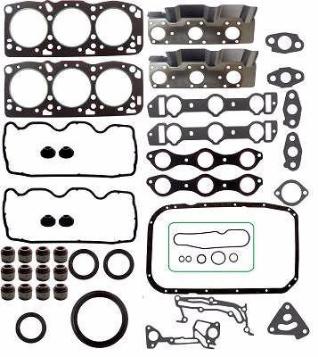 kit retifica motor c/ ret chrysler duster 6g72 3.0 12v v6