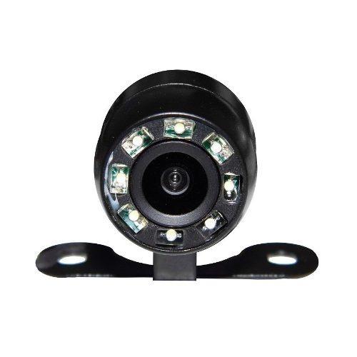 kit retrovisor lcd c/camera visao noturna + sensor vermelho