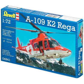 Kit Revell Modelo A Escala Helicoptero A-109 K2 Rega