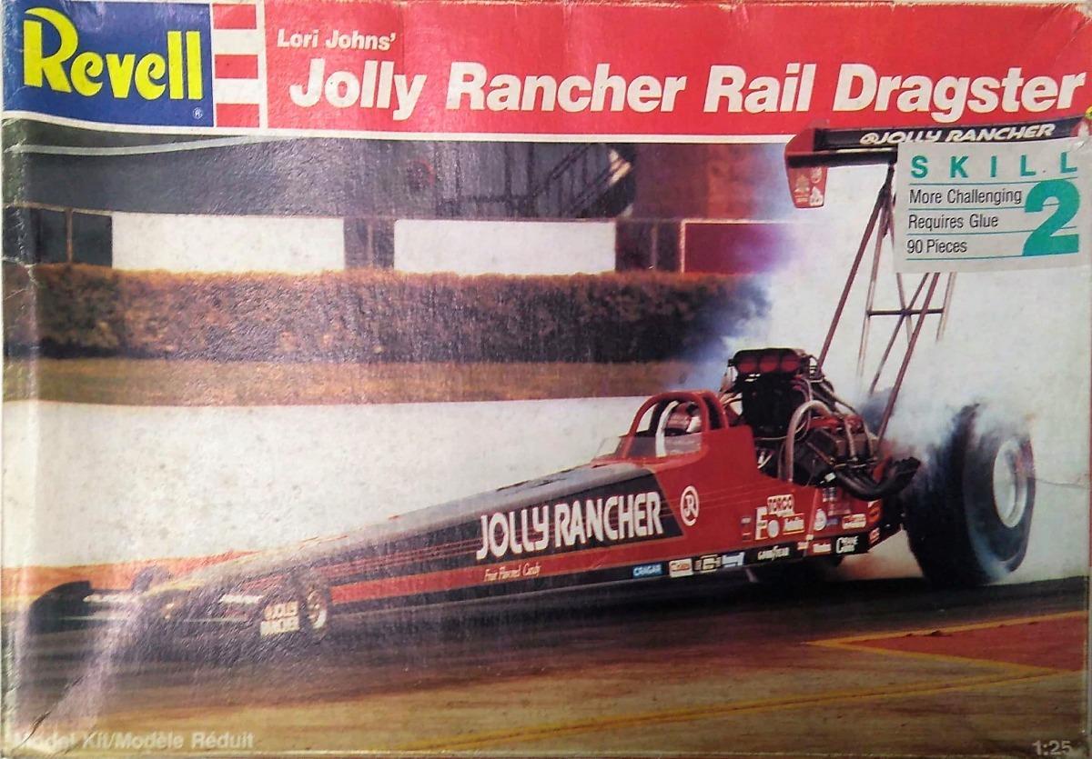 Kit Revell Para Montar Jolly Rancher Rail Dragster