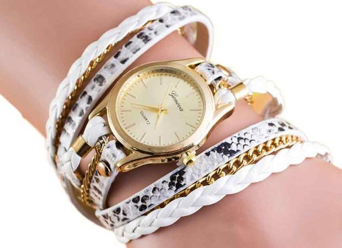 b438443df99 Kit Revenda 10 Relógios Femininos Couro Degradê Atacado - R  159