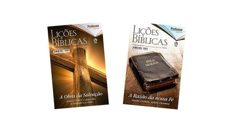 kit revista lições bíblicas professor