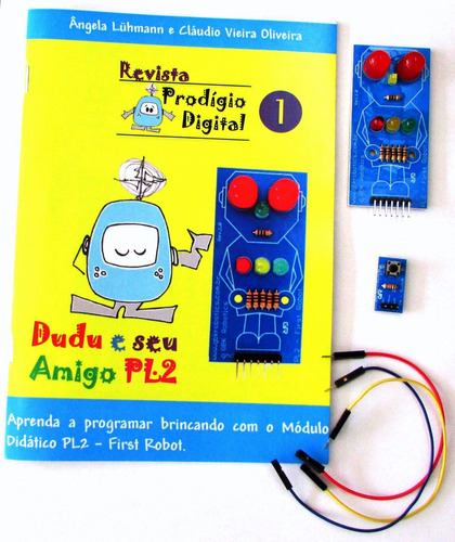 kit revista prodígio digital - nº1 (para arduino)