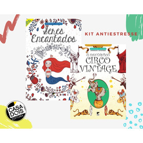 Kit Revistas De Antiestresse! Se Diverta.