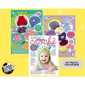 Kit Revistas De Trico E Crochê Bebê!
