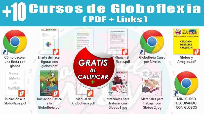 Kit Revistas Decoración Con Globos Fiestas Globoflexia Y