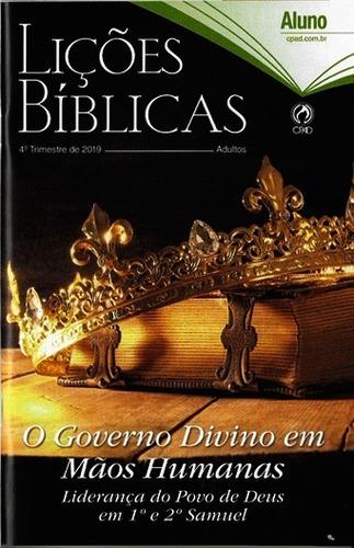 kit revistas lições bíblicas adulto 18 alunos 2 professor