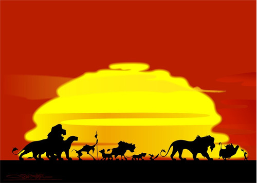 kit rey león invitaciones, stickers, banderín impreso