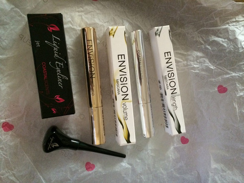 kit rimel delineador coastal scents invision lenght volume