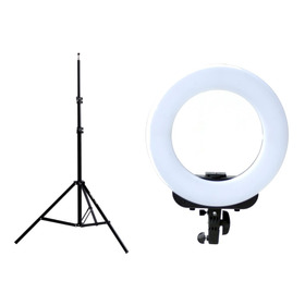 Kit Ring Led Iluminador Aro Luz Ø36cm+ Tripode 190cm Phottix