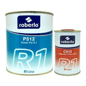 Kit Roberlo Primer P512 Fondo + Catalizador C512 - Szumik