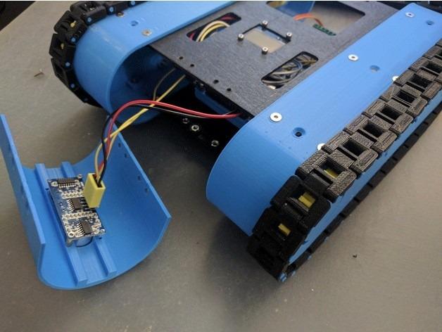 Kit Robot Oruga, Arduino Wifi Web Control Lan/wan Completo