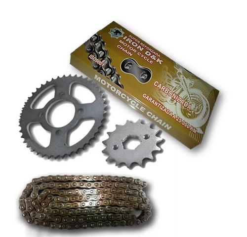 kit rodamiento corona cadena reforzada piñón  rkv horse owen