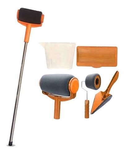 kit rodillo recargable extensible + 6 accesorios lq lqrod-20