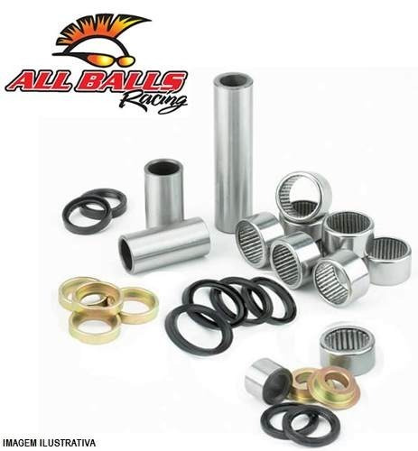kit rolamento link - all balls - kx 125 99/03 + kx 250 99/03