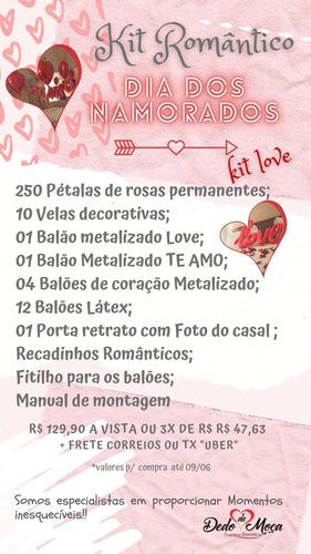 kit romântico- dia dos namorados