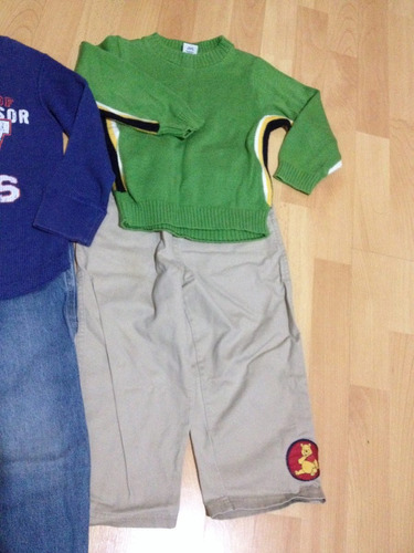 kit ropa de 4 años para niño