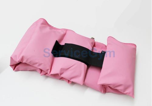 kit rosa colchoneta mancuernas rusa tobillera 2kg servicegym
