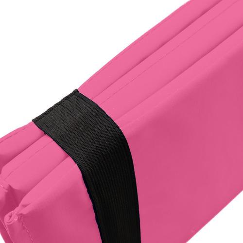 kit rosa colchoneta tobilleras pesas 2 kgs combo mancuernas
