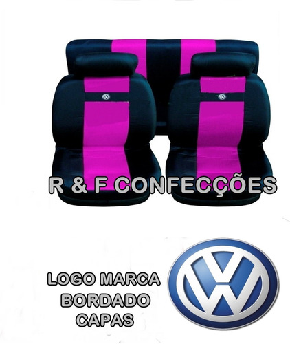 kit rosa gol g3 capa de bancos  tapetes pedaleira volante