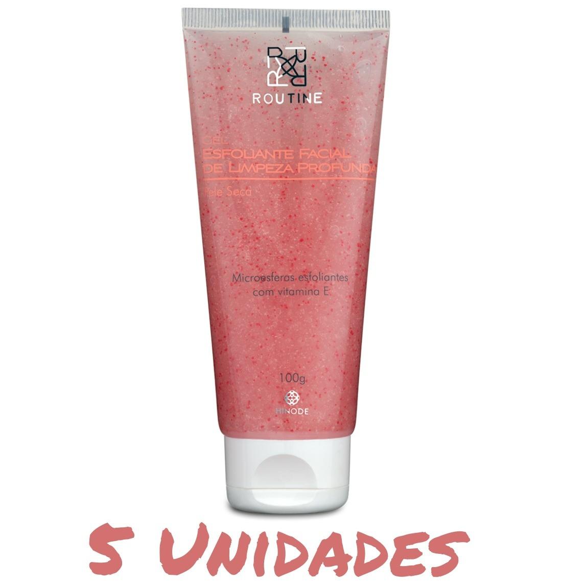 Kit Rosto Esfoliante Facial Pele Seca Limpa E Hidrata R 174 90 Em