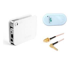 Kit Roteador Wifi D100 + Modem 3g + Adaptador Antena Externa