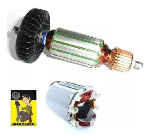 kit rotor e estator martelete makita hr2450/hr2455