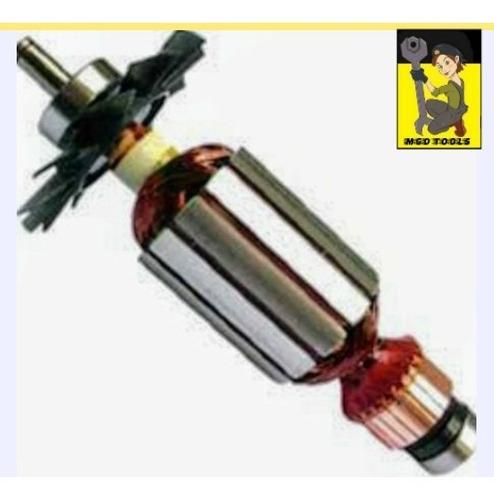kit rotor + escovas + mola serra marmore 4100nh 110/220v