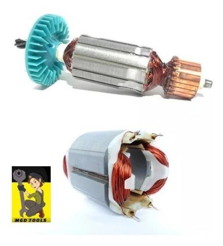 kit rotor + estator + defletor serra 1623.0 gks190 new bosch