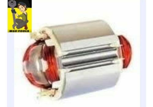 kit rotor + estator + escovas serra mármore makita mt410
