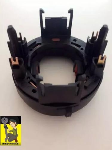 kit rotor + porta escovas furadeira makita hp1620/hp1640