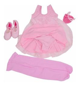 403ba60f031f85 Kit Roupa Bailarina De Ballet Infantil Completo Em Renda