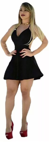kit roupa promoção 3 vestidos cintura marcada panicat balada