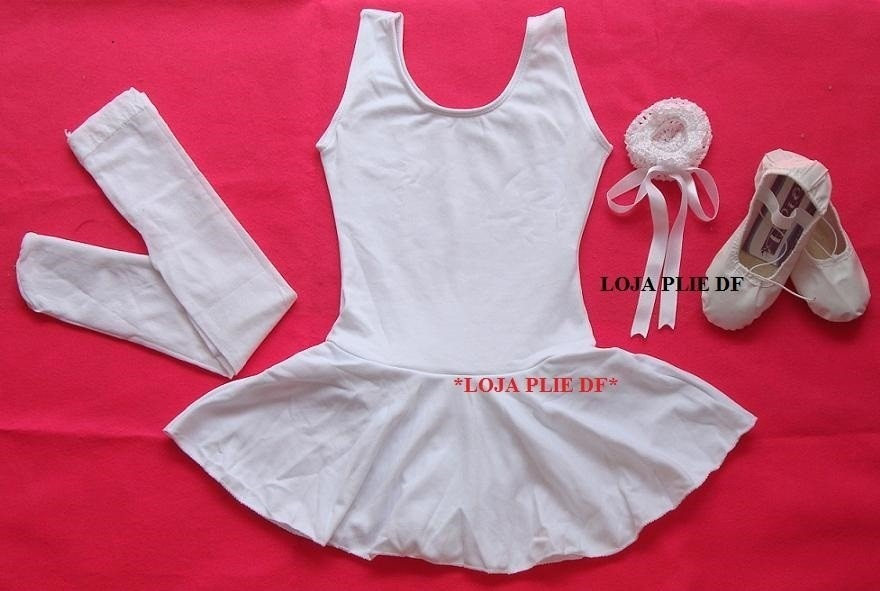 18dc4ec92d kit roupa uniforme figurino ballet para aulas infantil no df. Carregando  zoom.