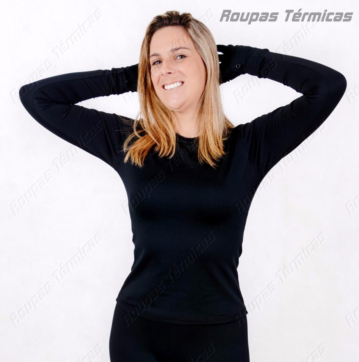 Kit Roupas Térmicas 1 Blusa 1 Calça 1 Luva 1 Meia + Brinde - R  236 ... 4d4b440cee8