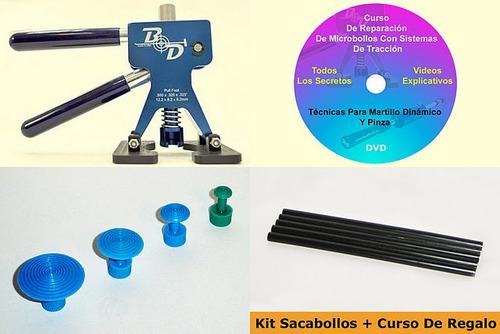kit sacabollos con pinza byd  usa + curso en dvd de regalo