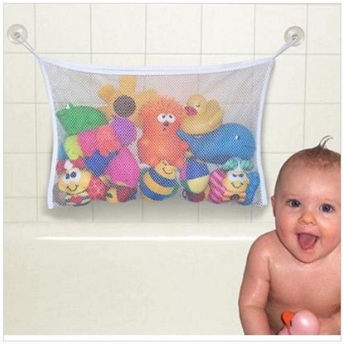 kit saco organizador brinquedo bebê +  extensor de torneira