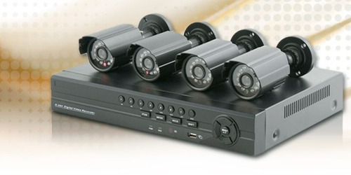 kit safesky dvr + 4 camaras ext imperdible precio