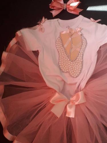 kit saia de tule, body e tiara (aniversário)