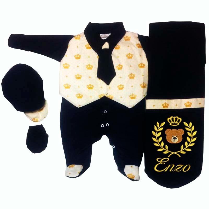 Características. Marca Elegância Baby  Modelo Kit Saída Maternidade 98dd850acd1
