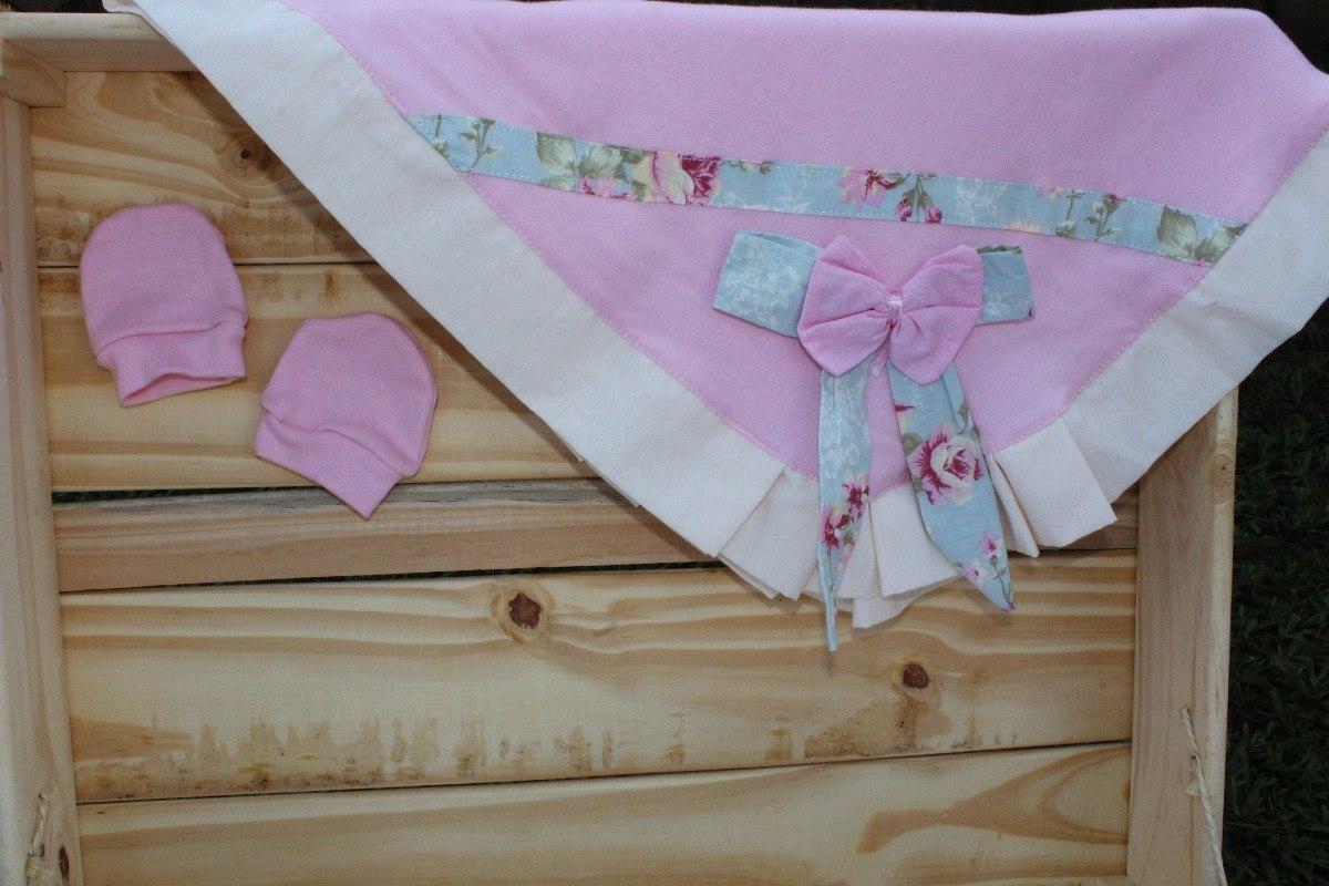 1bafb18af3cdd kit saida de maternidade menina charmosa 05 peças - rosa. Carregando zoom.