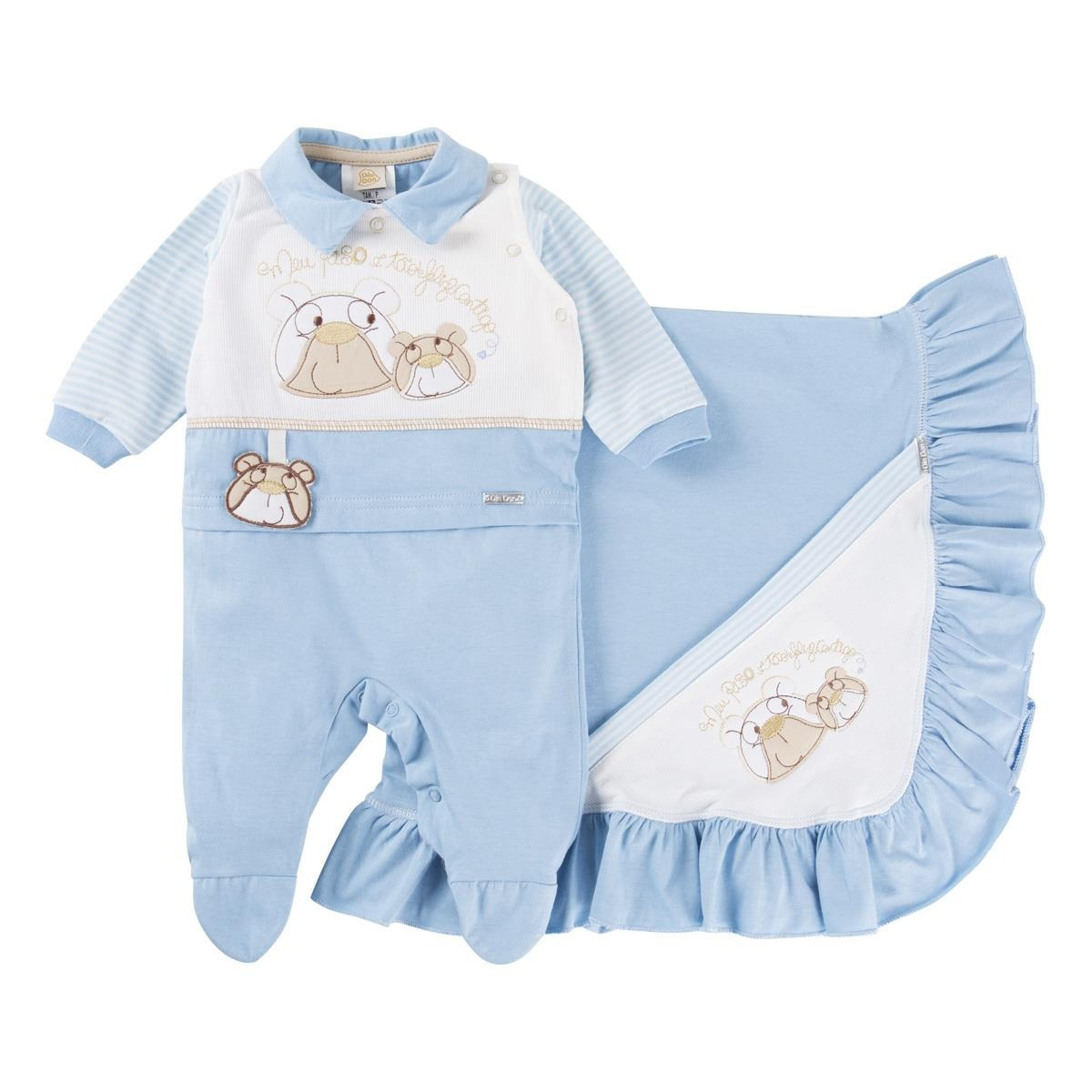 0bbb6fbdd1 kit saída maternidade menino bebe marca din don frete grátis. Carregando  zoom.