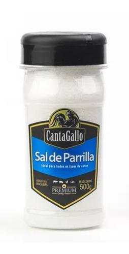 kit sal grosso/ parrilla para churrasco bbq cantagallo