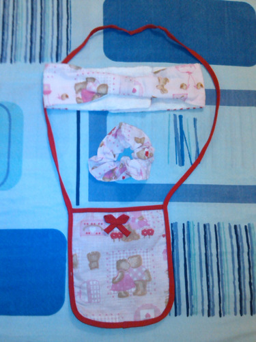 kit salida de baño para niñas estampada de 5 piezas al mayor