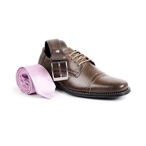 5c4327b30 Sapato Masculino Em Couro Sandro Moscoloni Dayton 12729 - Calçados ...