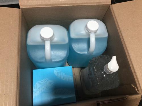 kit sanitizante incl pulverizador electric,sanitizante y gel